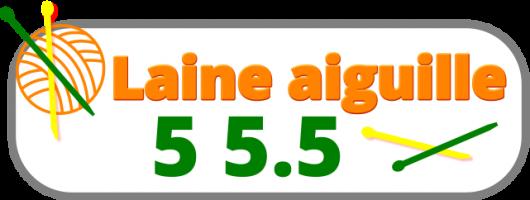 laine n°aiguille 5 5.5