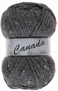 Laine Canada tweed gris foncé 425