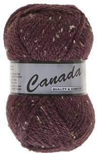 Laine Canada tweed lie de vin 445