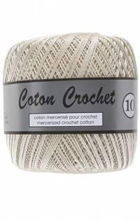 coton crochet écru 016