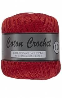 coton crochet rouge 043