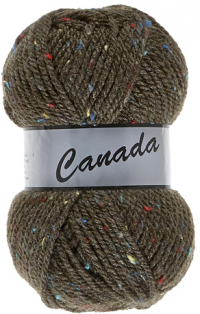 Laine Canada tweed marron multi 310