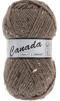 Laine Canada tweed marron 467