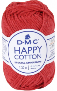 happy cotton rouge 789