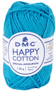 happy cotton bleu cyan 786