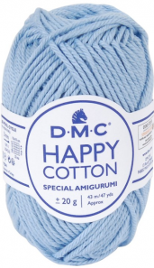 happy cotton bleu clair 751