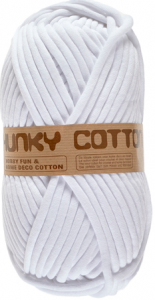 chunky cotton blanc 05