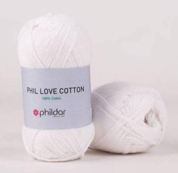 phil love coton blanc