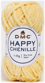 happy chenille jaune 08