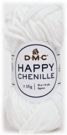 happy chenille blanc 013