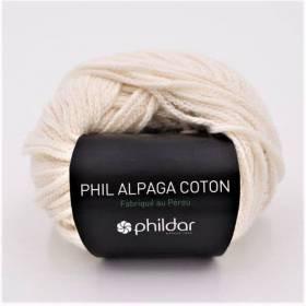 alpaga coton ecru