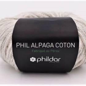 alpaga coton givre
