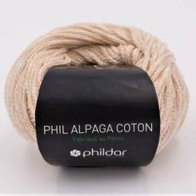 alpaga coton naturel