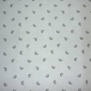 tissu coton double gaz bambino kc8361-003 bleu