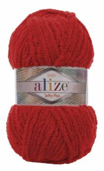 alize  Softy Plus 56 Rouge