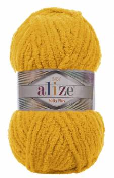 alize Softy Plus 82 Moutarde