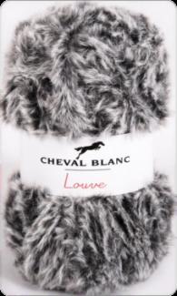 louve mix noir/blanc 350