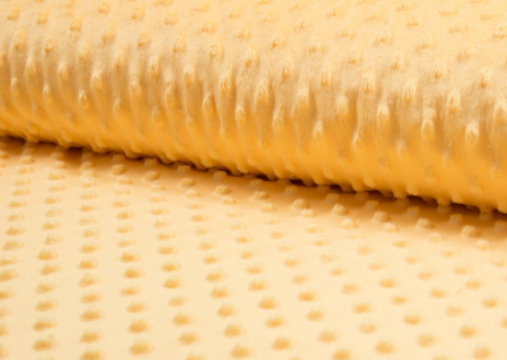 Tissu coton minky 031 jaune