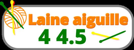 laine n°aiguille 4 4.5