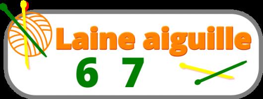 laine n°aiguille 6 7