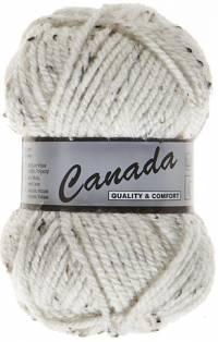 Laine Canada tweed blanc 405
