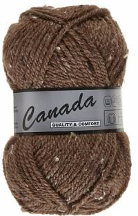 Laine Canada tweed marron 415