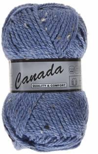 Laine Canada tweed jeans foncé 455