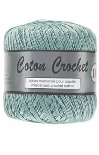 coton crochet vert d'eau 075