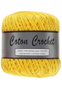 coton crochet jaune vif 371
