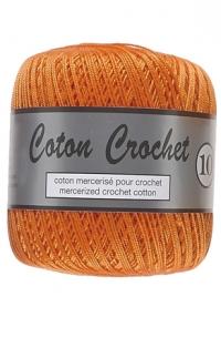 coton crochet orange 041