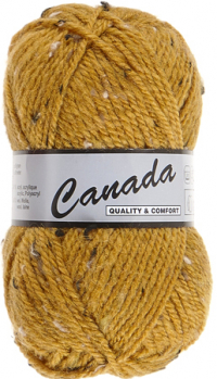 Laine Canada tweed moutarde 490