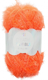 creative bubble orange fluo 025