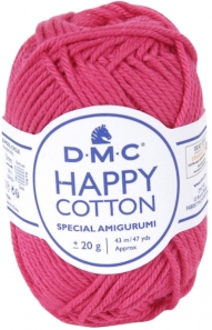 happy cotton framboise 755
