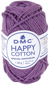 happy cotton violer foncé 756