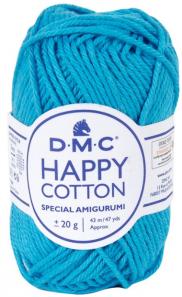 happy cotton bleu cyan 786