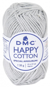 happy cotton gris perle 757