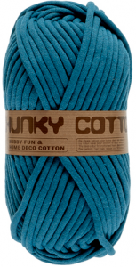 chunky cotton bleu 517