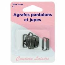 Agrafes pantalons et jupes H433.20.B