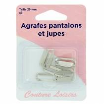 Agrafes pantalons et jupes H433.20.N