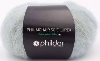 Phil mohair soie lurex AMANDE