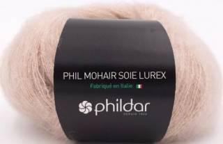 Phil mohair soie lurex GAZELLE