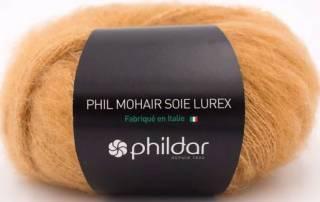 Phil mohair soie lurex MIEL