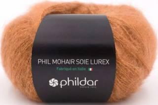 Phil mohair soie lurex NOISETTE