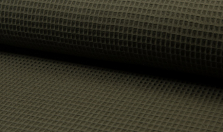 Tissu coton WAFFEL 027 KAKI