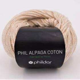 alpaga coton naturel