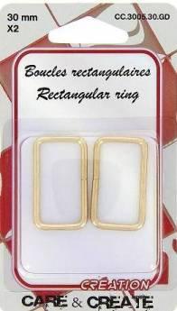 boucles rectangulaire 3005.30.GD
