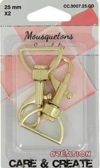 mousquetons 3007.25.GD